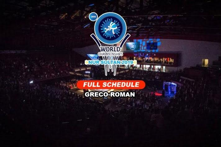 Full Indian wrestling team and schedule for Greco-Roman