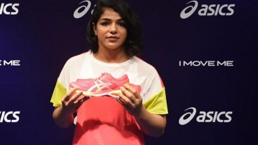 Sakshi Malik becomes an Asics brand athlete