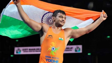 Deepak Punia becomes World Champion wrestler, bronze for Viky