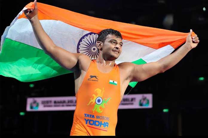 Deepak Punia becomes World Champion wrestler, bronze for Viky