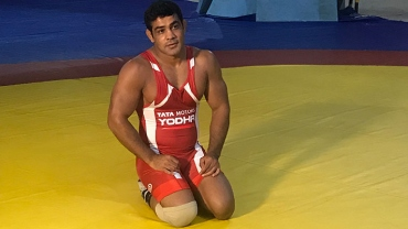 Sushil eyeing the elusive Olympic gold