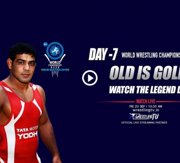Sushil Kumar takes the mat on Friday: UWW World Championships 2019