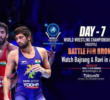 Bajrang & Ravi ready for bronze medal bouts, coming LIVE on Wrestlingtv.in @ 6:PM