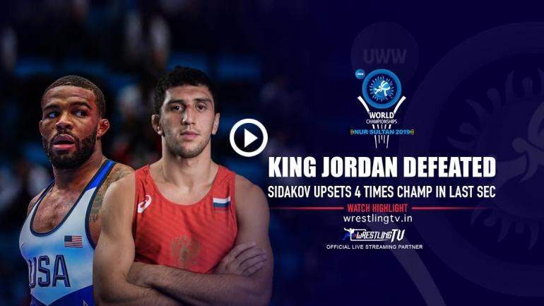 UWW World Championship: King Jordan defeated in the semi-finals