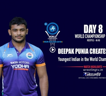 World Championship 2019: Deepak Punia creates history, youngest Indian in the world championship finals