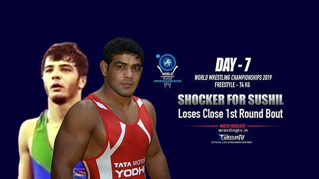Sushil Kumar loses opening round at the world championship