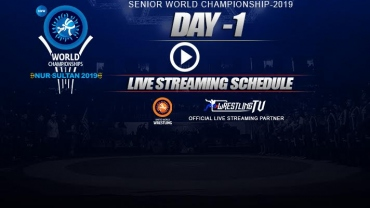 UWW World Wrestling Championship Day 1 Live Streaming Schedule