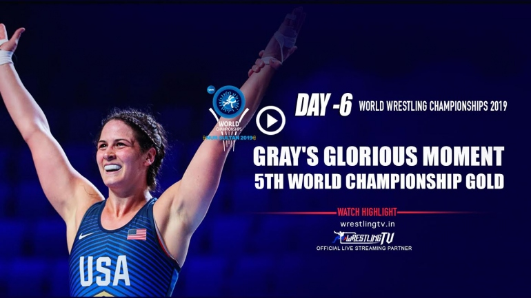 UWW World Championship: Adeline Gray win her fifth world championship gold