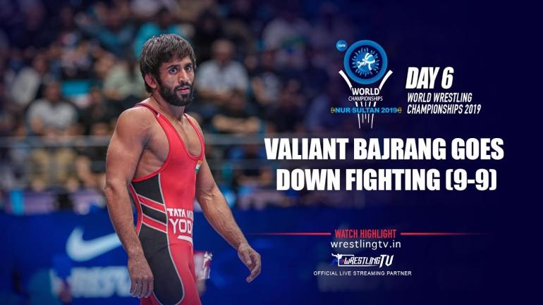 Heartbreak for Bajrang Punia, Kazakhstan wrestler defeats Indian star in last 4