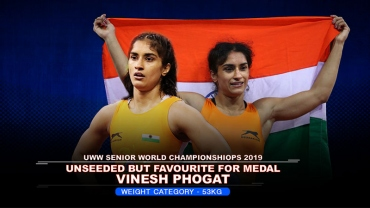 UWW World Wrestling 53Kg women preview: Vinesh unseeded but favorite to win medal