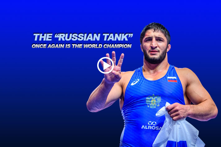 "THE ""RUSSIAN TANK"" ONCE AGAIN IS THE WORLD CHAMPION"