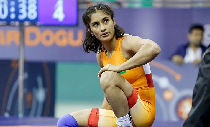 Vinesh wins opener but loses to Japanese in 2nd, medal hope still alive Other 3 Indian girls disappoint big time