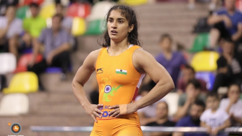 Vinesh enters bronze medal round, defeats world number 1 Sarah from USA
