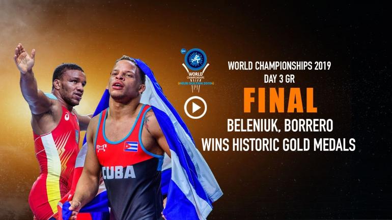 Day 3 UWW World Championship : Beleniuk, Borrero wins historic gold medals