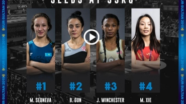 UWW World Wrestling Championship: 55kg women preview, Kazakh girl starts favorite