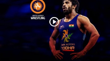 Mud to Mat: UWW video celebrates Bajrang's success