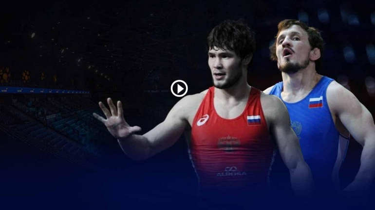 Russia reigns supreme at Dmitri Korkin wrestling International