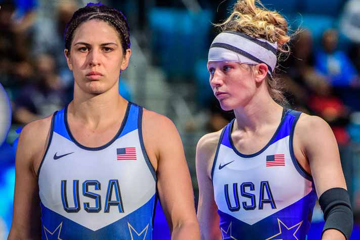 Adeline Gray, Sarah to conduct wrestling clinic