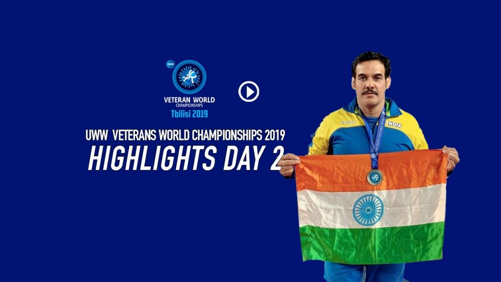 UWW World Veteran championship 2019: Day 2 Highlights