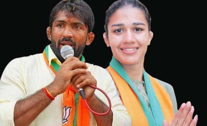 Haryana Elections: Babita, Yogeshwar lose on BJP tickets