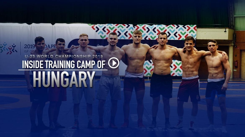 U-23 World Championship 2019 – Inside Training Camp of Hungary
