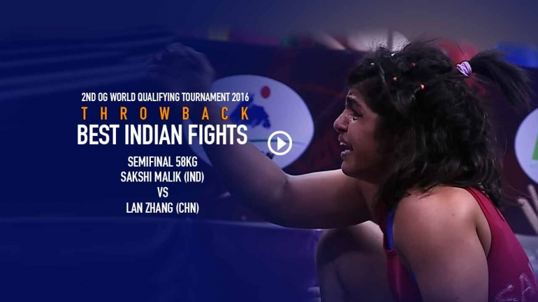 Watch Sakshi Malik fight like a lioness in the Biggest Fight of Indian Wrestling History