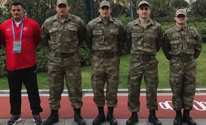 World Military Games wrestling starts : See world champions Riza Kayaalp & Taha AKGUL in never seen before avatar