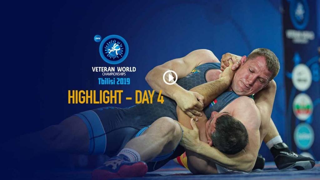 UWW World Veteran championship 2019: Day 4 Highlights