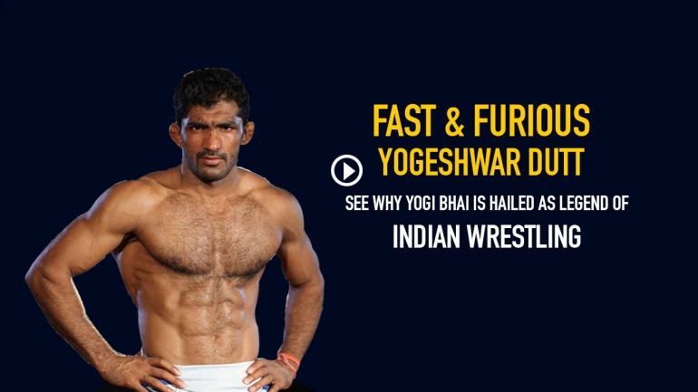 Fast & Furious Yogeshwar Dutt – See why Yogi Bhai is hailed as legend of Indian Wrestling