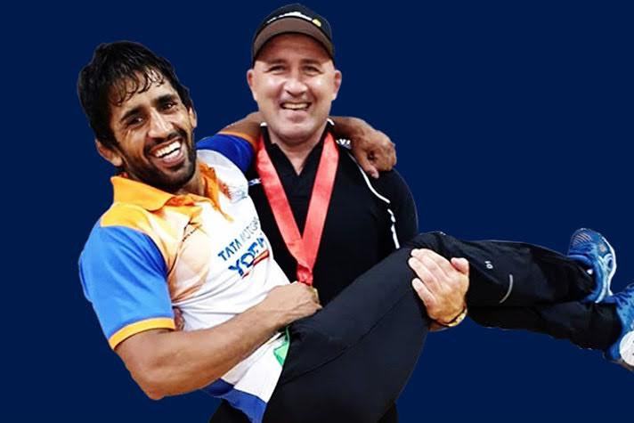 Bajrang Punia's coach, Shako targets Gold @ Tokyo 2020. Watch exclusive interview with WrestlingTV
