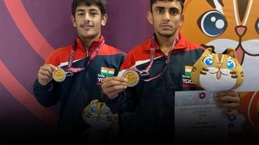 U-15 Asian Wrestling Championships: India off to flying start