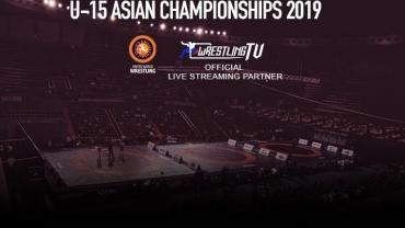 WrestlingTV to broadcast Asian U-15 Wrestling Championship LIVE