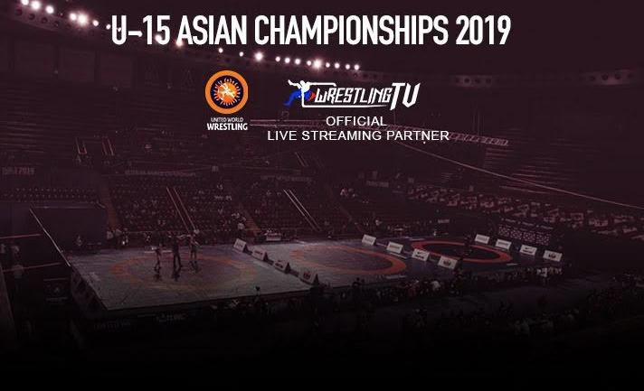 WrestlingTV to broadcast Asian Wrestling Championship 2020 U-15 LIVE