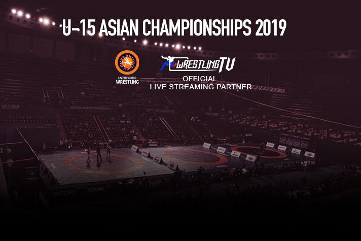 WrestlingTV to broadcast Asian Wrestling Championship 2020 U-15 LIVE