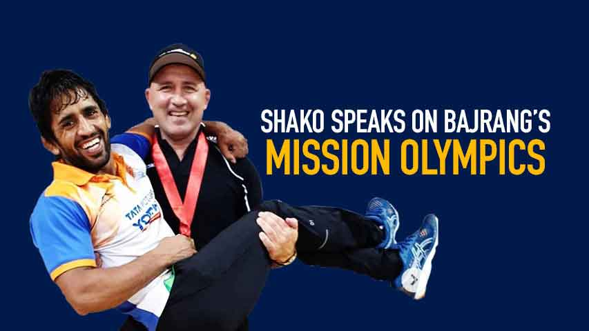 Shako Bentinidis EXCLUSIVE: Olympic gold for Bajrang sole agenda