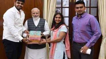 Champion wrestler Babita Phogat invites PM Modi for her wedding