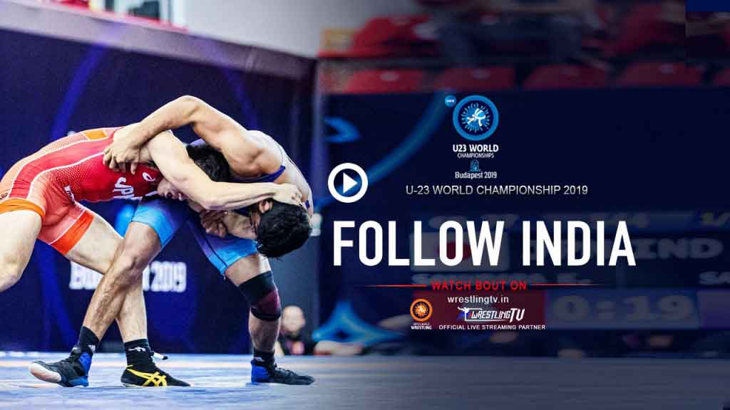 UWW U23 World Wrestling Championships,U23 World Wrestling Championships 2019,U23 World Wrestling Championships 2019 Live,UWW World Championship Live,Wrestling India Videos