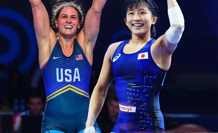 Women's World Cup Wrestling LIVE: Japan-USA in Grand Finale