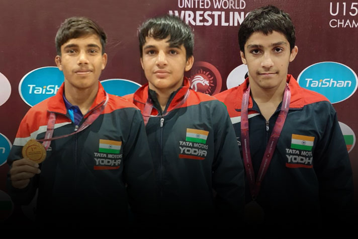 U-15 Asian Wrestling Championships: India wrestlers shine, wins unprecedented 6 Golds on Day 2