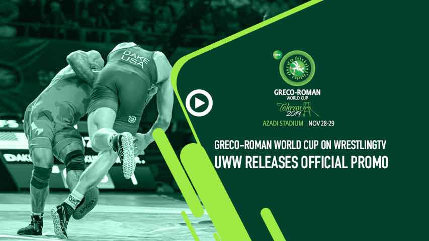 Watch Official promo of the Greco-Roman World Cup 2019
