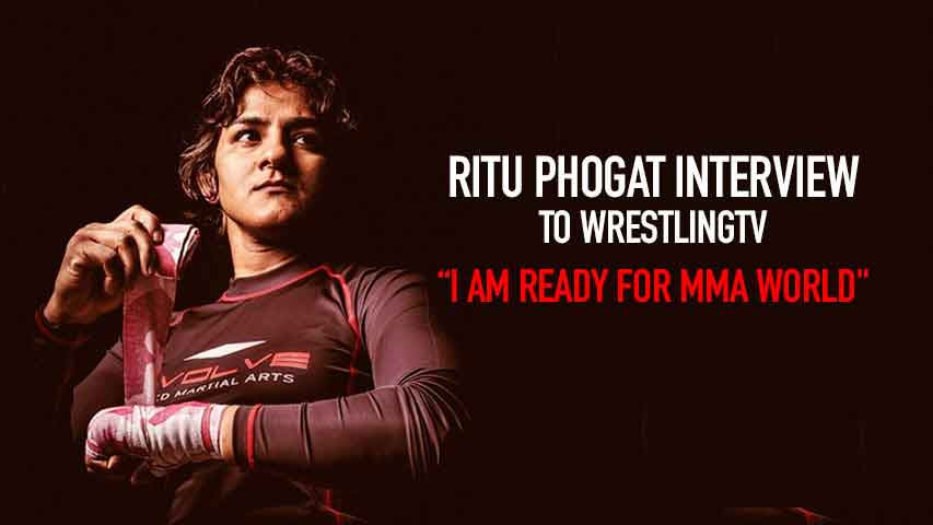 Ritu Phogat's exclusive interview to WrestlingTV 24 hours before the debut bout, watch the VIDEO