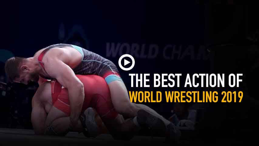 The best action of 2019 World Wrestling
