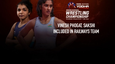 Senior National Wrestling Championships 2019: Vinesh Phogat, Sakshi included in Railways team