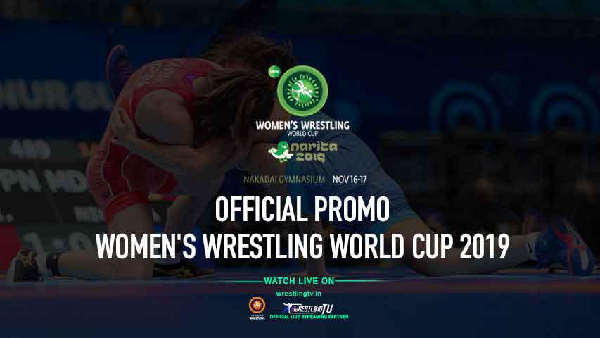 Women's Wrestling World Cup 2019 - official Promo
