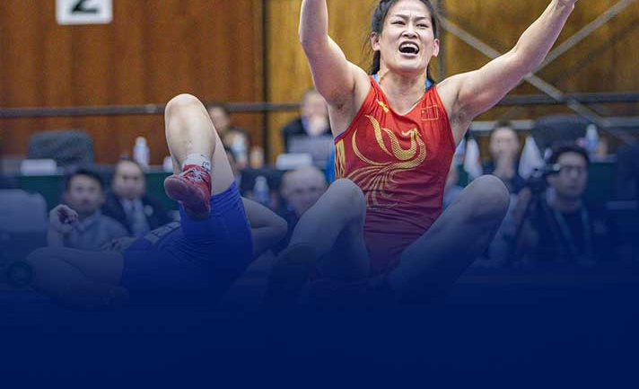 Women's World Cup Wrestling: China makes quick work of Mongolia for bronze medal