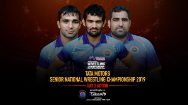 Tata Motors Senior National Wrestling Championships: Greco-Roman wrestling draws released for Day 3 of competition