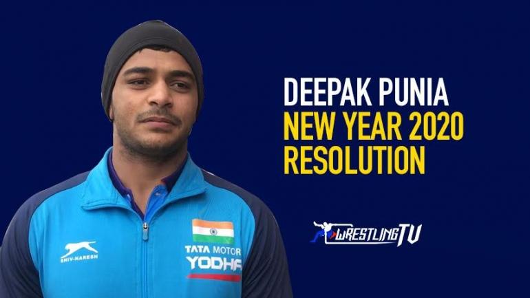 DEEPAK PUNIA – NEW YEAR 2020 RESOLUTION