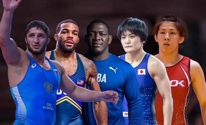 Watch the five wrestling legends who have dominated the wrestling world this decade