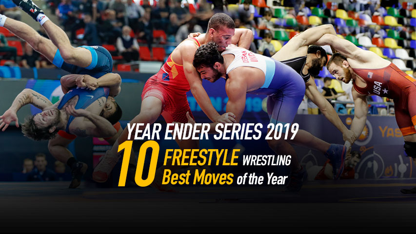 FREESTYLE Wrestling - Watch the Ten Best Moves of Year 2019