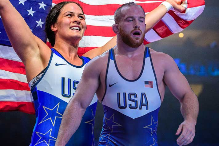 USA Wrestling : From 4 time world champ Adeline Gray to Olympic